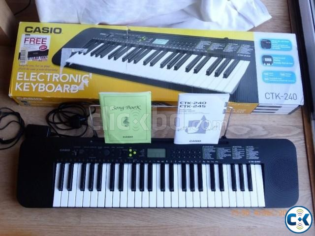 Brand New Casio CTK-245 Intact  | ClickBD large image 0