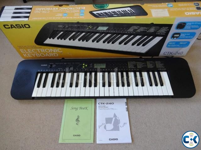 Brand New Casio CTK-245 Intact  | ClickBD large image 1