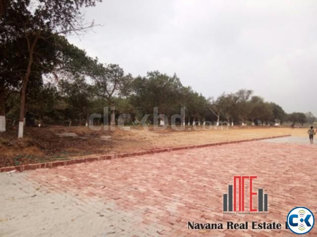 Plot in Purbachal Navana Project | ClickBD large image 0