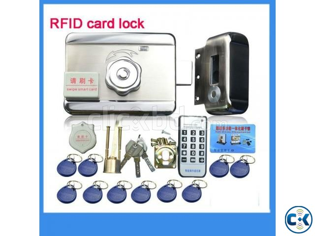 High quality Electronic integrated RFID card lock Double re | ClickBD large image 1