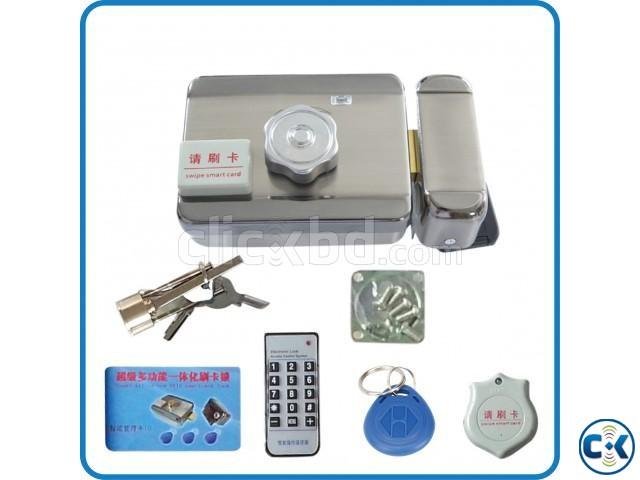 High quality Electronic integrated RFID card lock Double re | ClickBD large image 2