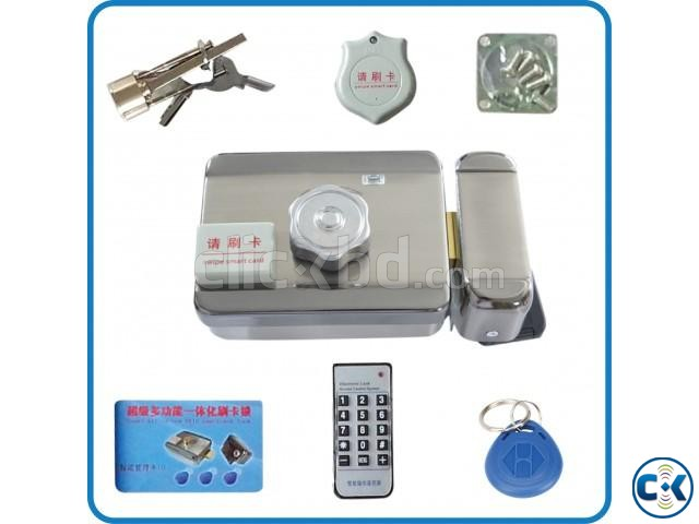 High quality Electronic integrated RFID card lock Double re | ClickBD large image 3