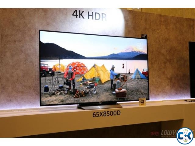 Sony Bravia X8500D 4K Ultra HD 55 Inch Smart Television | ClickBD large image 1