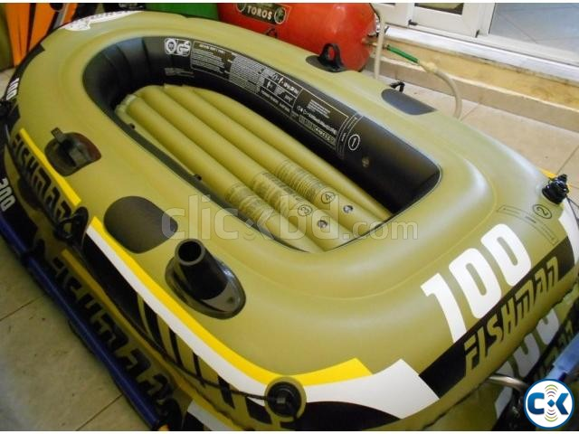 Fishing Boat Inflatable Fishman 100 | ClickBD large image 4