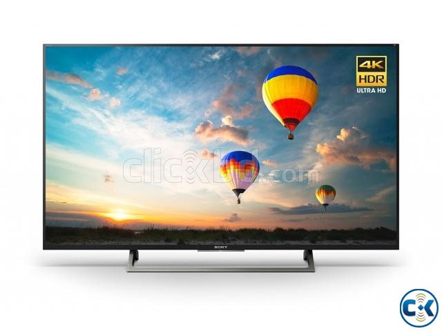 Sony Bravia X7500D 65 Flat 4K UHD Wi-Fi Smart Android TV | ClickBD large image 0