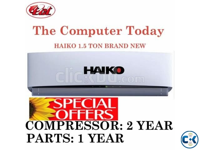 Haiko 1 TON AC HS-12KDTLV Split AC With 2 Years War | ClickBD large image 1