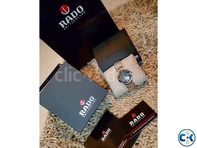 Rado rosegold DIAMOND centrex new full boxed from ITALI | ClickBD large image 0