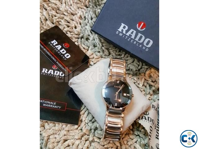 Rado rosegold DIAMOND centrex new full boxed from ITALI | ClickBD large image 1