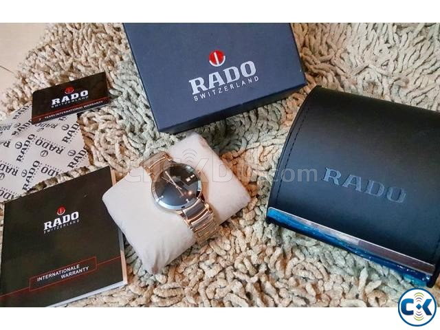 Rado rosegold DIAMOND centrex new full boxed from ITALI | ClickBD large image 2