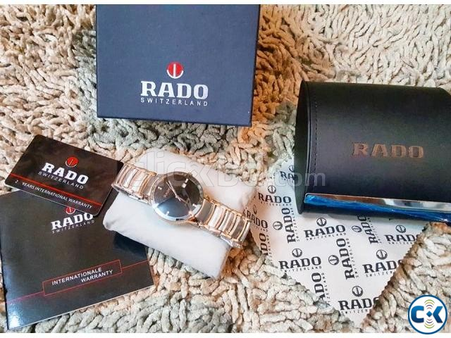 Rado rosegold DIAMOND centrex new full boxed from ITALI | ClickBD large image 3