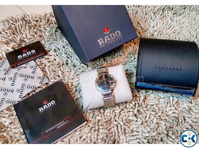 Rado rosegold DIAMOND centrex new full boxed from ITALI | ClickBD large image 4