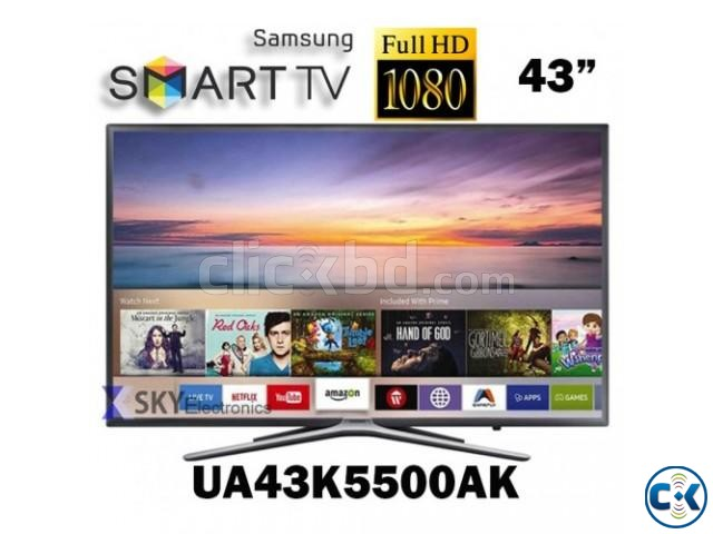 Samsung TV K5500 43 Inch Full HD WiFi Smart LED Television | ClickBD large image 1