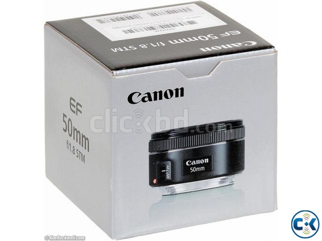 CANON 50mm 1.8mm STM Lens Price Bangladesh | ClickBD large image 0