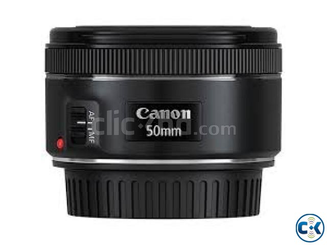 CANON 50mm 1.8mm STM Lens Price Bangladesh | ClickBD large image 1