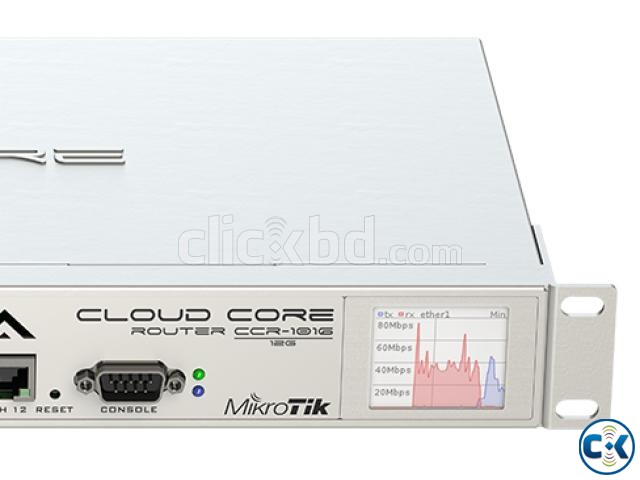 MikroTik Cloud Core Router 1016-12G | ClickBD large image 1
