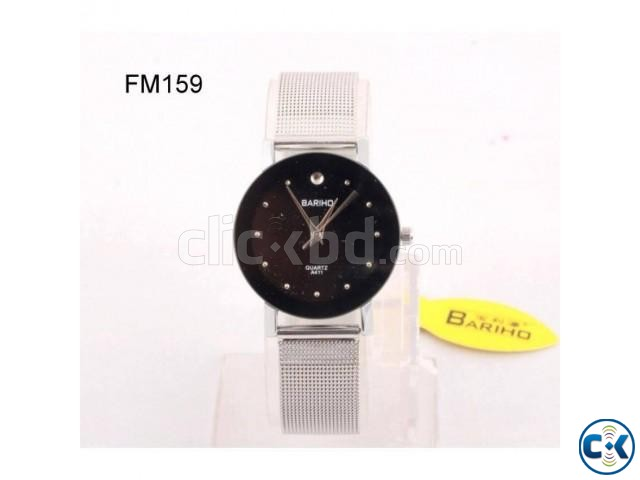 Bariho Stainless men s Women s Watch | ClickBD large image 0