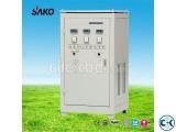 Sako Power on Svr-10000 VA Voltage Stabilizer AVR