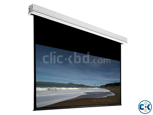 96 x 96 Manual Projection Screen | ClickBD large image 0