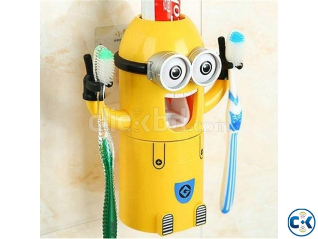 BABY MINION TOOTHPASTE HOLDER | ClickBD large image 0