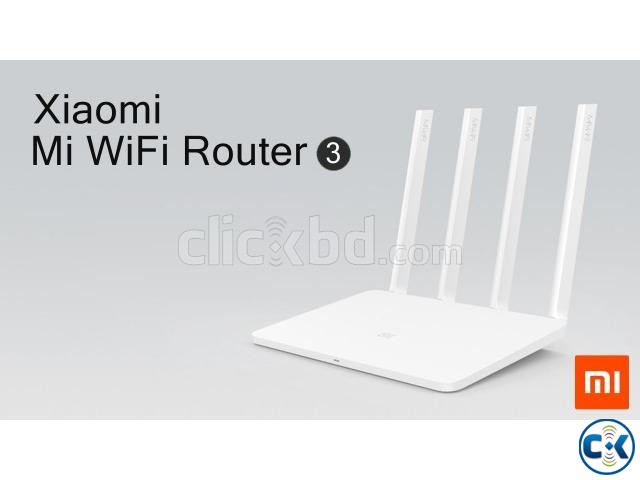 Xiaomi Mi Router 3 AC1200 Wireless Wifi 300 MBPS Router | ClickBD large image 0