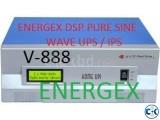 ENERGEX DSP PURE SINEWAVE UPS IPS 650VA WITH BAT. 5Yrs War.