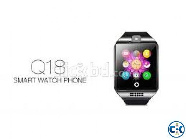 Original Q18s Sim Gear supported Smart Watch BD | ClickBD large image 2