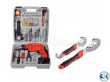 Hand Drilling Machine Set Snap Grip Tool Combo Offer