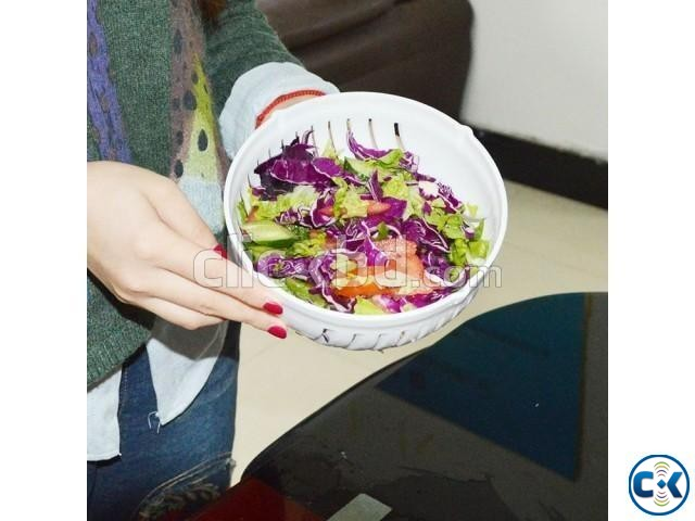 Salad Cutter Bowl-  | ClickBD large image 1