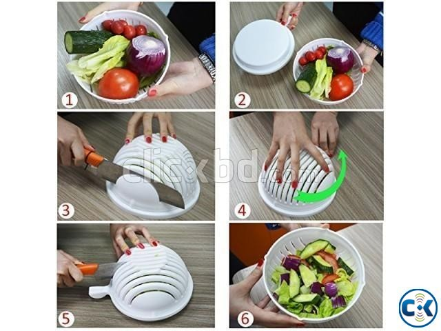Salad Cutter Bowl-  | ClickBD large image 3