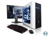 Unbelievable Price i3 PC 17 LED 3yaer