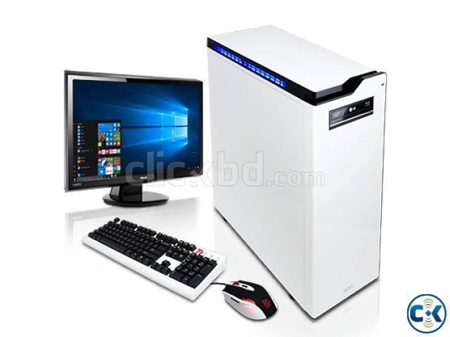 GAMING PC i3 2GB 160GB 17 LED MONITOR | ClickBD large image 1