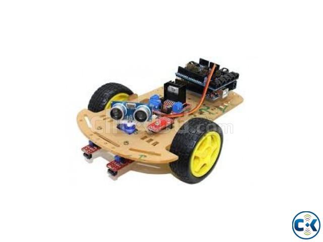Line follower robot set | ClickBD large image 0