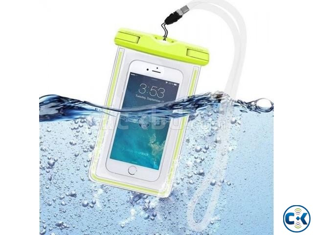 Waterproof Mobile Pouch Bag - Multicolour | ClickBD large image 0