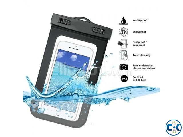 Waterproof Mobile Pouch Bag - Multicolour | ClickBD large image 1