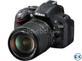 Nikon D5200 Camera 24.1 MP CMOS HD Video Digital SLR