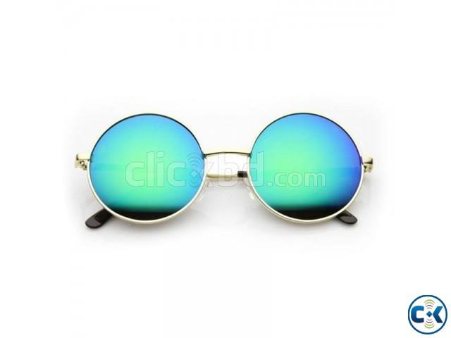 Round Shape gandi markary Sunglasses | ClickBD large image 0