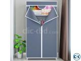 Bedroom Fabric Canvas Wardrobe Portable