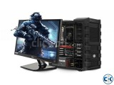 GAMING PC i5 3rd GEN 4GB 320GB 17 LED