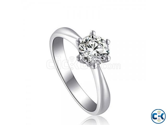Plated Twin Zircon Finger Ring | ClickBD large image 0