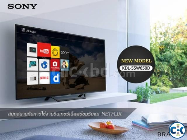 Sony Bravia W652D 40 Smart Screen Mirroring Full HD TV | ClickBD large image 0