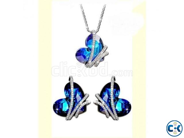Heart Shaped Women s Jewelry Set 004 | ClickBD large image 0