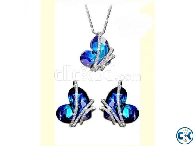 Heart Shaped Women s Jewelry Set 004 | ClickBD large image 0