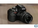 Nikon D3300 24.2MP 3 HD Digital SLR Camera With Lens