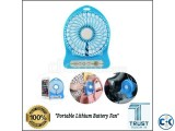 Portable Rechargeable Fan Lithium Battery