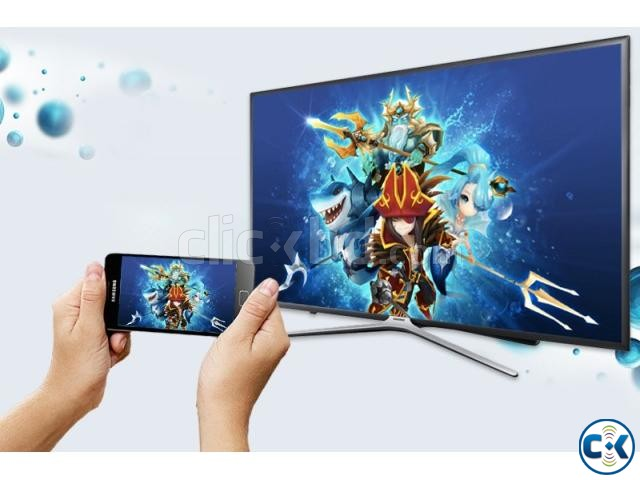 Samsung M5500 43 Inch Flat Full HD Wi-Fi Smart Television | ClickBD large image 0