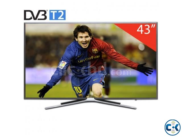 Samsung M5500 43 Inch Flat Full HD Wi-Fi Smart Television | ClickBD large image 1