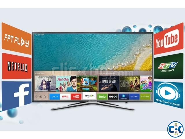 Samsung M5500 43 Inch Flat Full HD Wi-Fi Smart Television | ClickBD large image 2