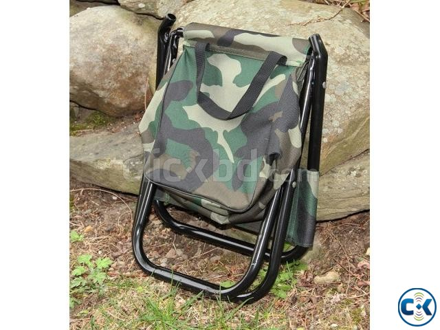 Camping Fold Army Chair with Comportment-  | ClickBD large image 1