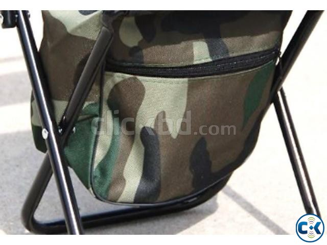 Camping Fold Army Chair with Comportment-  | ClickBD large image 3
