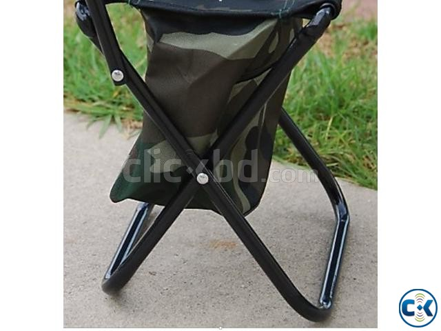 Camping Fold Army Chair with Comportment-  | ClickBD large image 4